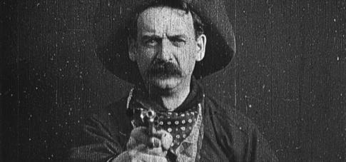 El primer plano cerrado de la Historia del cine - The Great Train Robbery (1903)