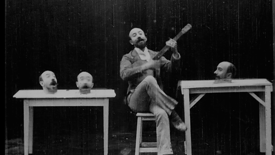 fotograma de una película de Meliès
